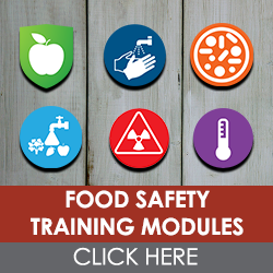 Free Food Safety Modules to Use in Your Training Program