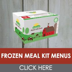 Frozen Meal Kit Menus