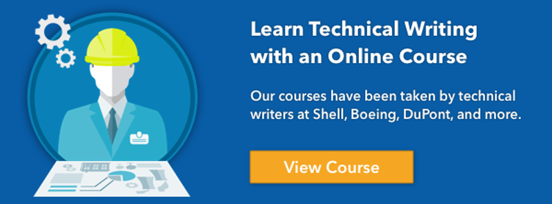 Learn technical writing with an online course