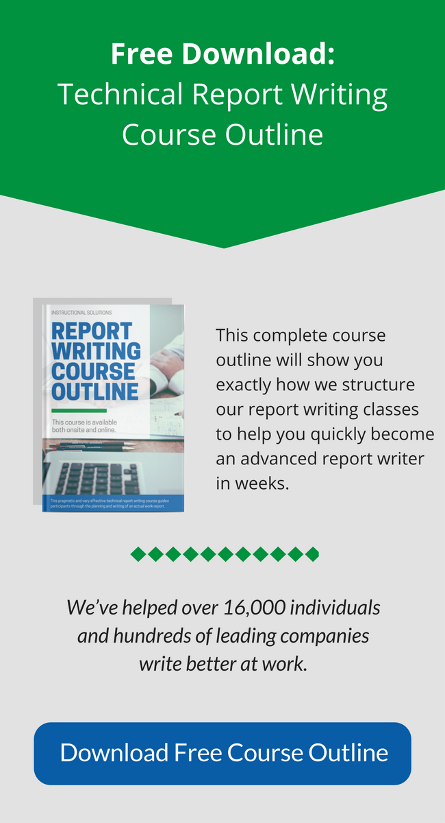 Business Writing Course Outline Download PDF