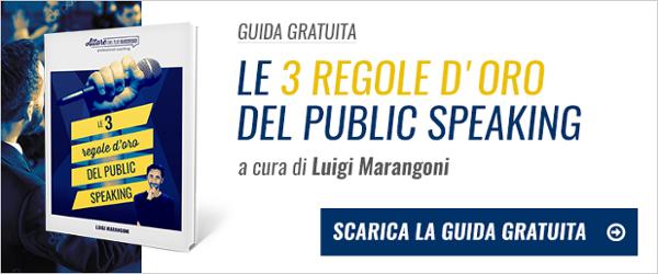 Scarica Guida 3 Regole del Public Speaking