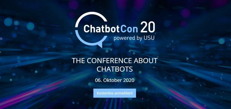 Chatbotcon 2020 - Kostenlos anmelden!
