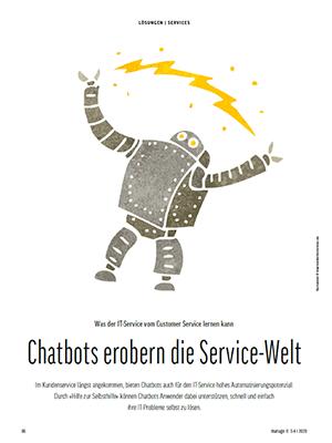 Chatbots erobern die Service-Welt