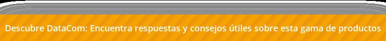 Descubre DataCom: estas son las últimas publicaciones enfocadas en Equipamiento  profesional