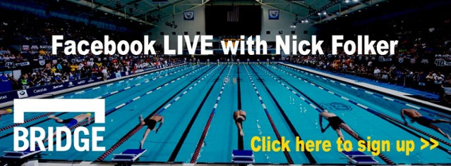 Sign up for our Facebook LIVE with Nick Folker!