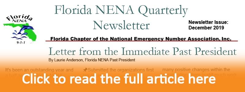 Florida NENA Quarterly Newsletter