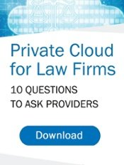 Private Cloud for Law Firms 10 Questions