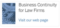 Business Continuity for Law Firms