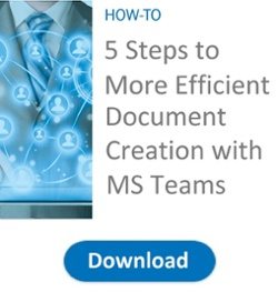 Efficient Document Creation with MS Teams