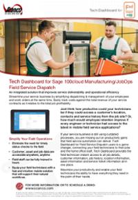 Download Tech Dashboard Brochure