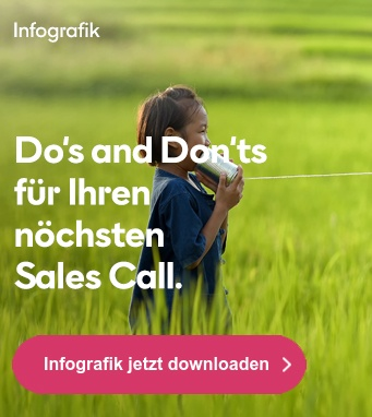 Gratis Infografik: Do's and Don'ts für Ihren nächsten Sales Call