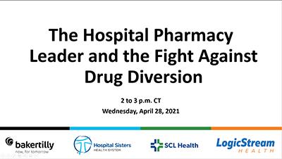 The Fight Against Drug Diversion Webinar CTA