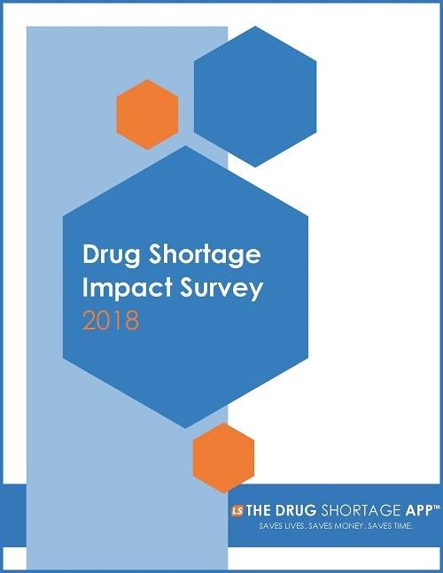Drug Shortage Survey Cover