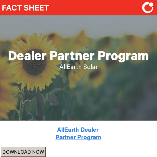 AllEarth Dealer  Partner Program DOWNLOAD NOW