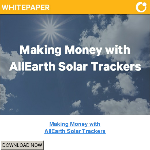 Making Money with AllEarth Solar Trackers DOWNLOAD NOW