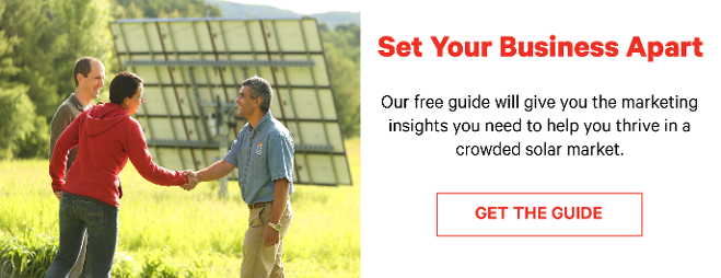Solar Marketing Insights to Help You Thrive in a Competitive Solar Market