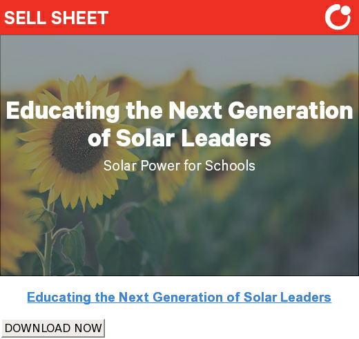Educating the Next Generation of Solar Leaders DOWNLOAD NOW