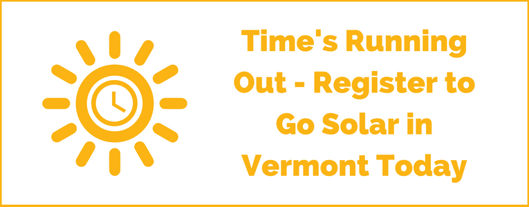 Time's Running Out to Go Solar in Vermont