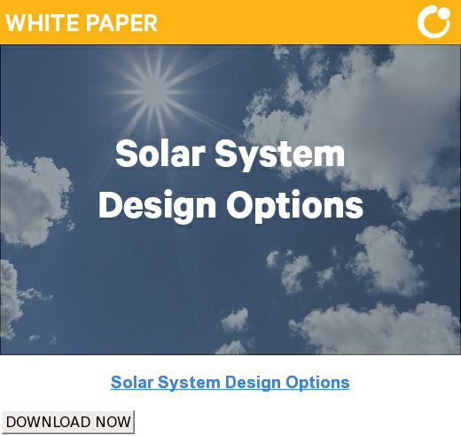 Solar System Design Options DOWNLOAD NOW