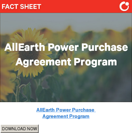 AllEarth Power Purchase  Agreement Program DOWNLOAD NOW