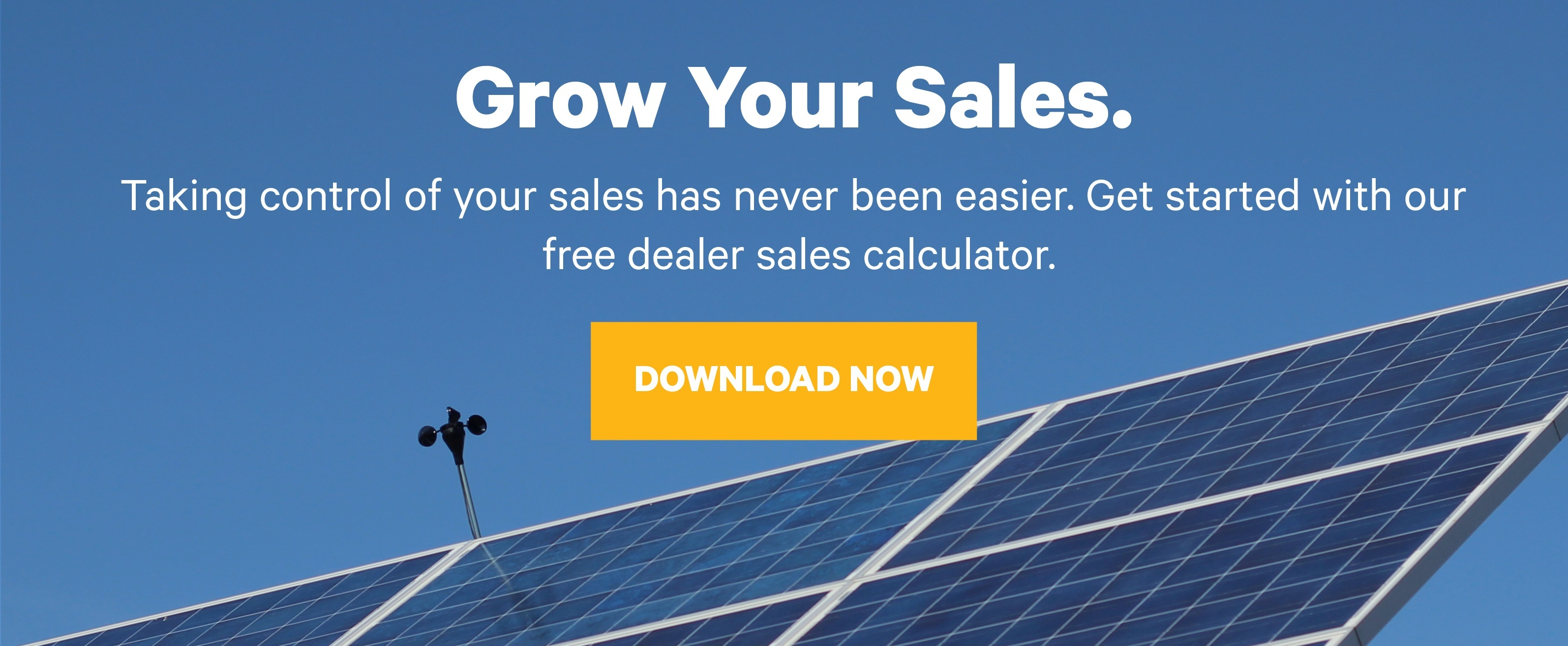 Grow your sales. Taking control of your sales has never been easier. Get started with our  free dealer sales calculator. Download Now.
