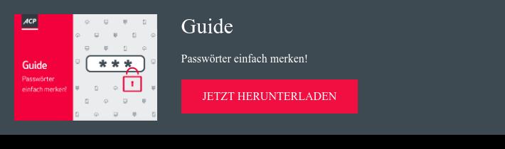 Guide Passwörter einfach merken!  jetzt herunterladen