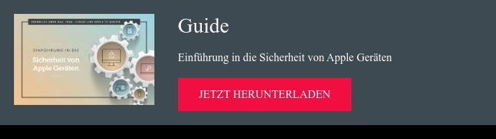 Guide Einführung in die Sicherheit von Apple Geräten jetzt herunterladen