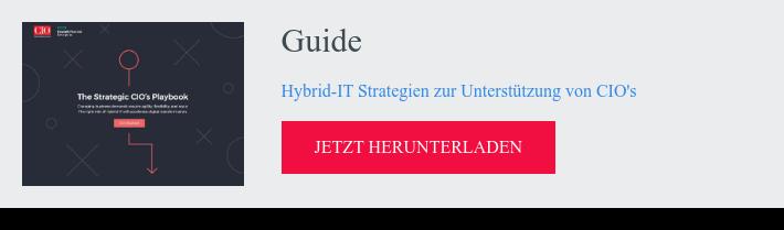 Guide  Hybrid-IT Strategien zur Unterstützung von CIO's  jetzt herunterladen