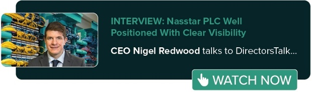 CEO Nigel Redwood talks to DirectorsTalk