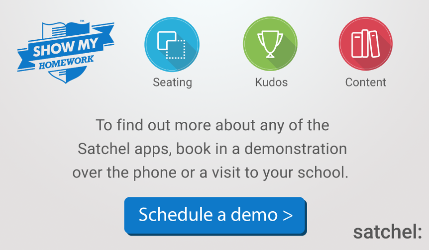Book a Demo - Show My Homework: powered by Satchel