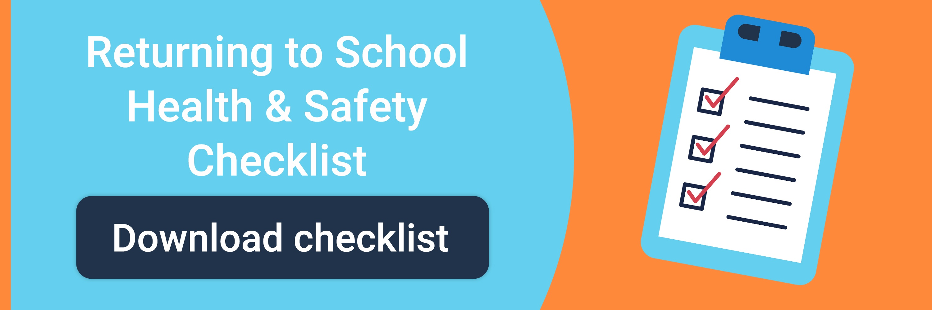 Returning to school health & safety checklist