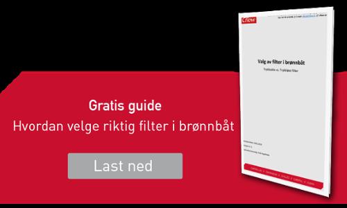 Klikk og få tilsendt gratis guide: Hvordan velge riktig filter til Brønnbåt