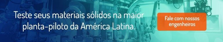 Dynamic Air - Teste seus materiais sólidos na maior planta-piloto da América Latina.