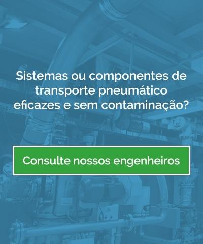 Sistemas ou componentes de transporte pneumático eficazes e sem contaminação.