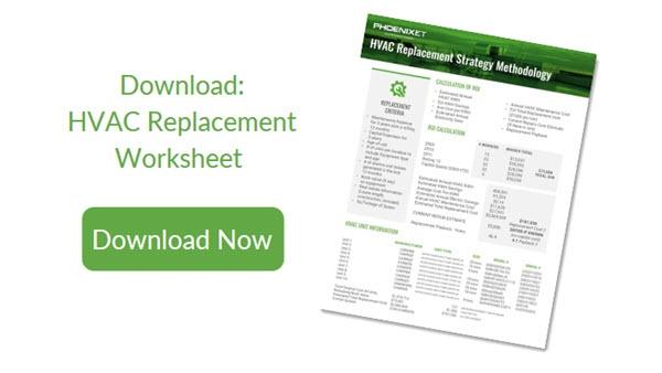 hvac replacement worksheet