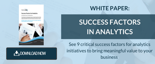 Download the White Paper: Success Factors in Analytics