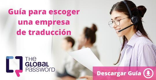 Guía para escoger una empresa de traducción
