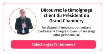 Interview Xavier Dullin président agglomération du Grand Chambéry