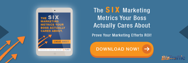 5 Marketing Metrics