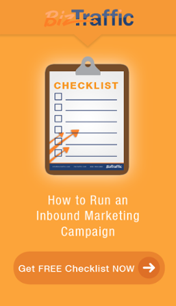 Free Inbound Marketing Checklist Vertical CTA