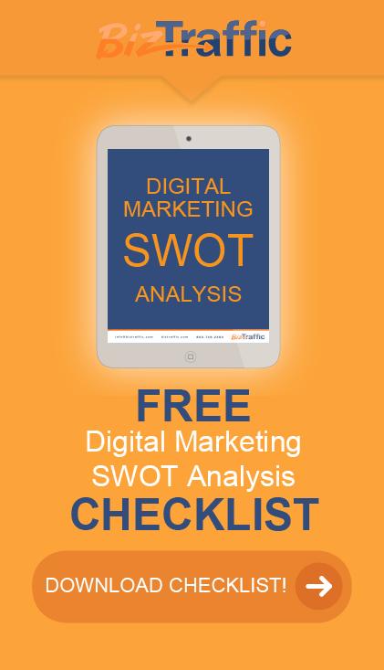 SWOT Checklist Vertical
