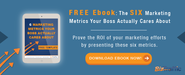 Free Ebook: Six Marketing Metrics Your Boss Cares About