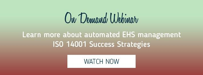 Learn ISO 14001 success strategies in this recorded webinar