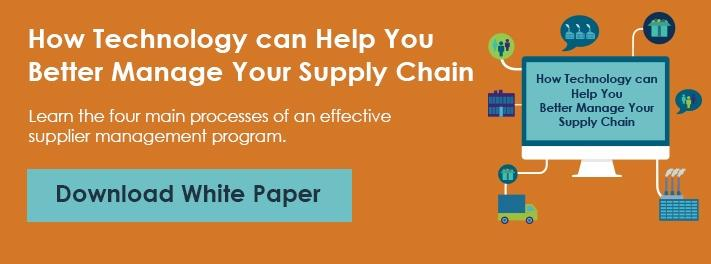 Learn how technology helps you better manage your supply chain