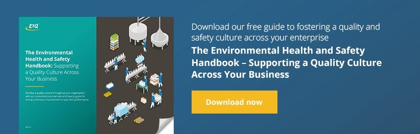 The Environmental Health and Safety Handbook: Supporting a Quality Culture Across Your Business