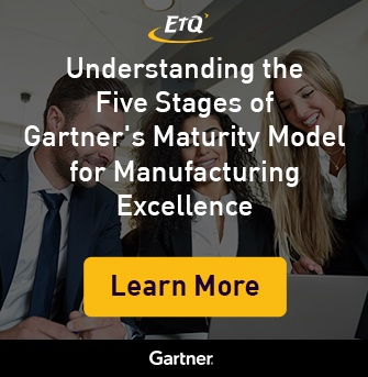 Download Now: Understanding the Five Stages of Gartner's Maturity Model for Manufacturing Excellence
