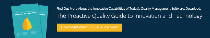 Proactive Quality Guide to Innovation & Technology