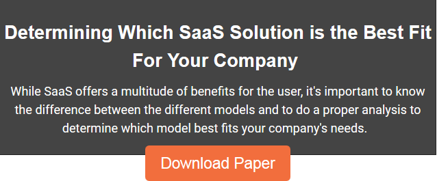 Determining Which SaaS Solution is the Best Fit for Your Company