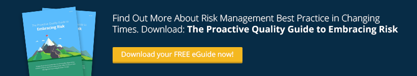 Proactive Quality Guide to Embracing Risk