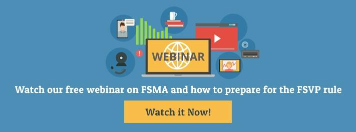 Learn how to prepare for the FSVP rule in this webinar recording